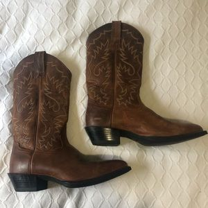 Ariat Russet Rebel Brown Cowboy Boot